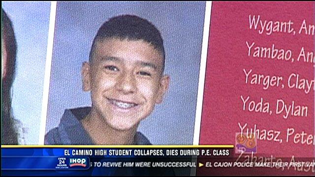 El Camino High Student Collapses Dies During Pe Class