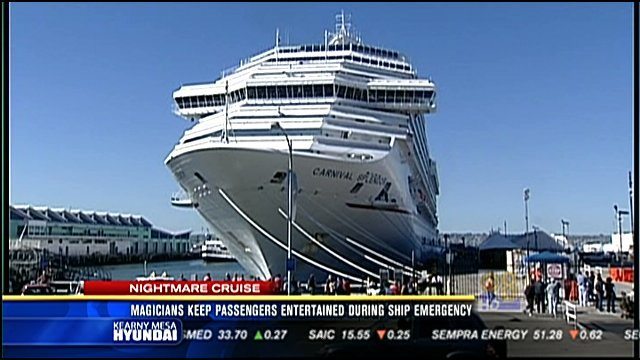 Magical Moments Aboard Stranded Carnival Cruise Ship CBS News - Stranded cruise ship