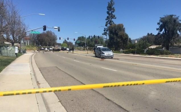 Motorcyclist killed in escondido crash 100 7 kfm bfm for 100 beauty salon escondido