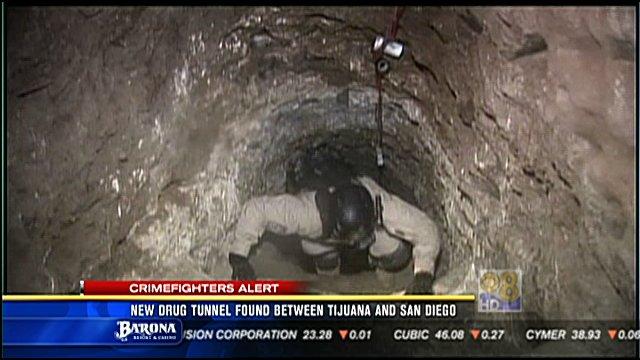 San Diego Drug Tunnel Had Railcar Tons Of Pot Cbs News 8 San Diego Ca News Station Kfmb