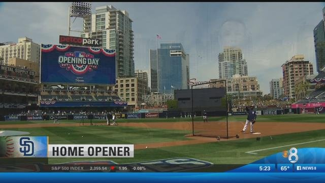 San Diego Padres Win Home Opener At Petco Park