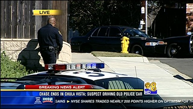 Honda Chula Vista >> Suspect in Chula Vista police standoff surrenders - CBS News 8 - San Diego, CA News Station ...