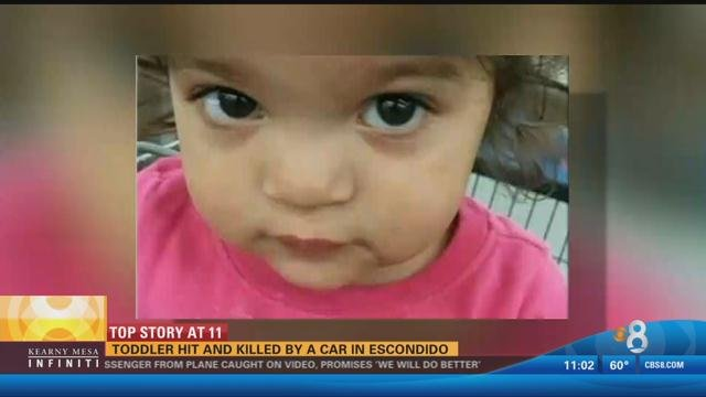 Toddler Struck And Killed By A Car In Escondido As She