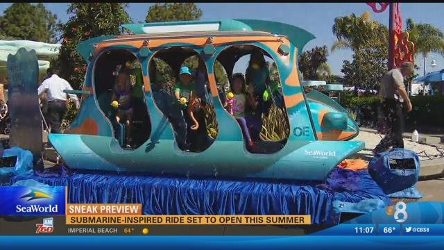 Submarine inspired ride set to open this summer cbs news for Worldwide motors san diego ca