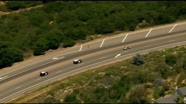 Police pursuit of armed robbery suspect ends near ramona for Worldwide motors san diego ca