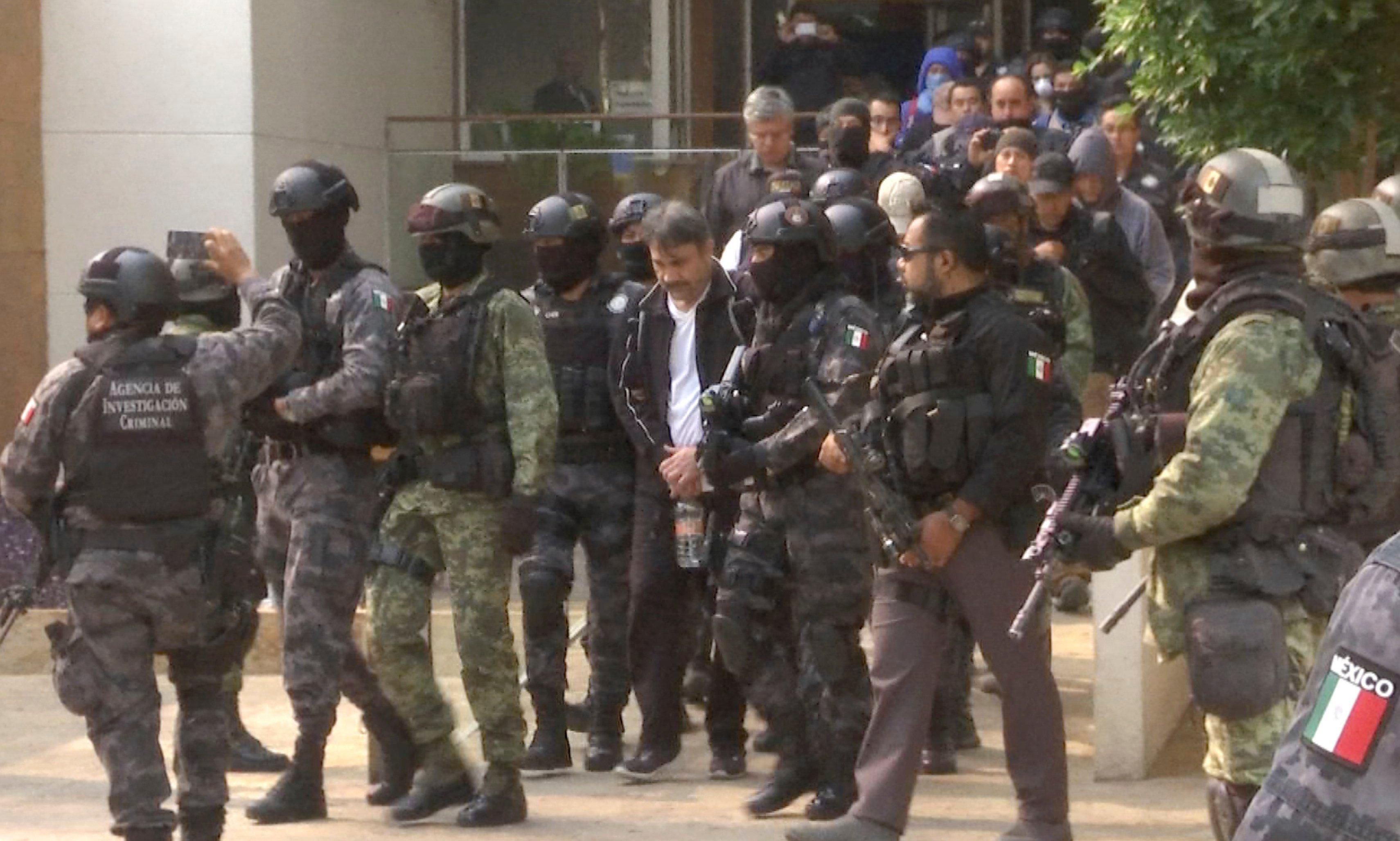 Mexico Captures Sinaloa Cartel Leader Damaso Lopez Cbs