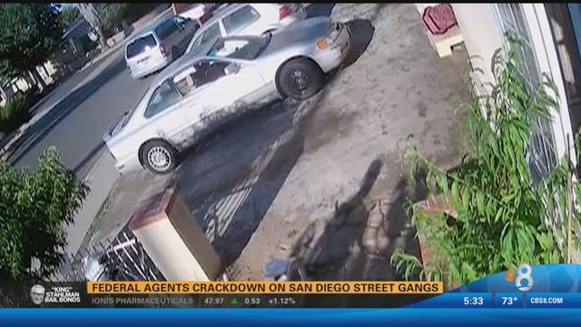 Federal agents crack down on san diego street gangs cbs for Worldwide motors san diego ca