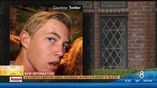 La Costa Canyon H S Graduate Charged In Penn State