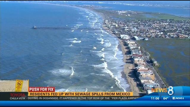 Push For Fix Imperial Beach Residents Fed Up With Sewage Spills Cbs News 8 San Diego Ca