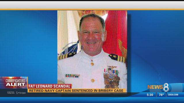 Image result for Retired Navy Captain Michael Brooks sentenced