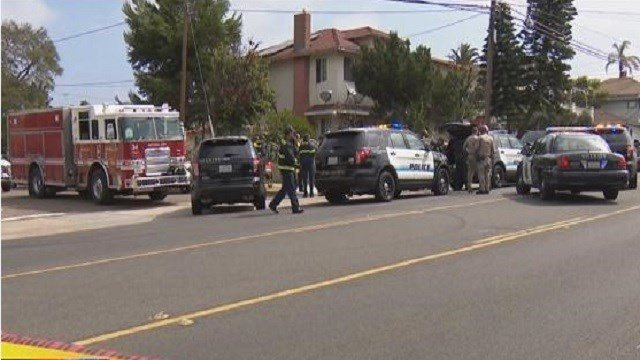 Arrest made in hours long standoff in national city cbs for National motors san diego