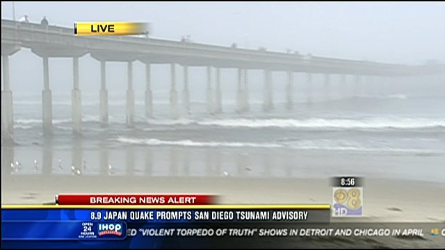 No Major Damage Reported In San Diego After Tsunami