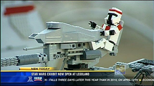 legoland star wars. quot;Star Warsquot; exhibit - Legoland