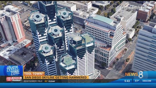 National City Auto Center >> Tool Town? San Diego skyline getting hammered - CBS News 8 ...