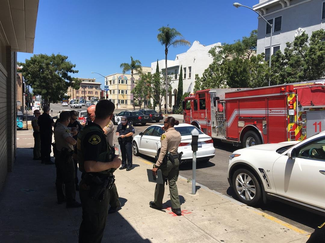 Auto theft suspect taken into custody after police chase for Worldwide motors san diego ca