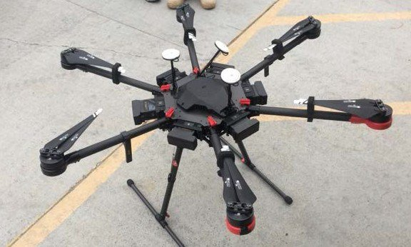 Drone carries drugs from Mexico