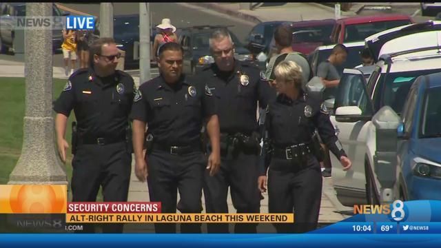 Anti Immigration Rally Laguna Beach Ca