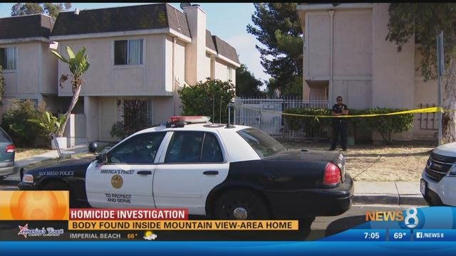 Suspect arrested after body found inside mountain view for Worldwide motors san diego ca