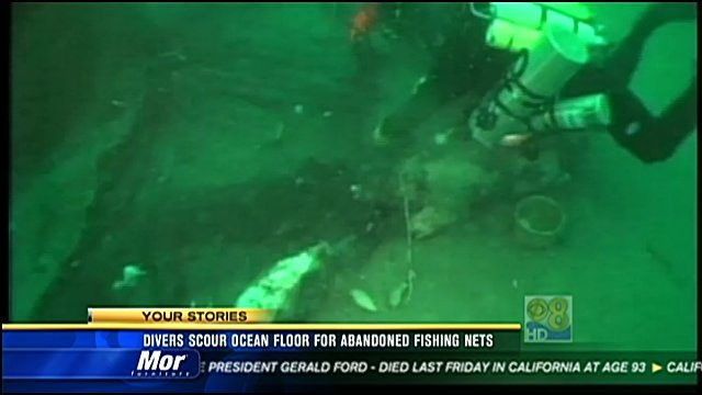 Honda Of Florence >> Divers scour ocean floor for abandoned fishing nets - CBS ...