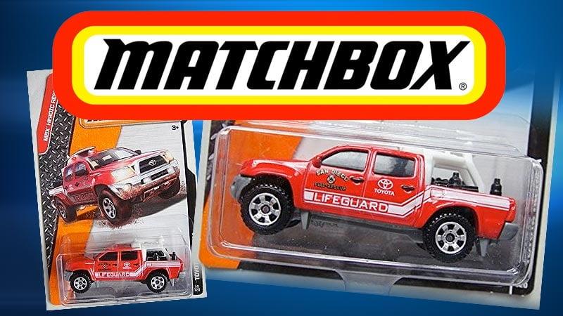 Matchbox Toy Emergency Vehicles Could Bear San Diego Logos Cbs News 8 San Diego Ca News