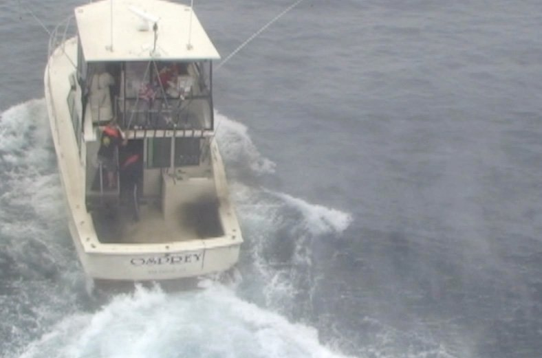 San diego coast guard rescues 8 fishermen off point loma for Point loma fishing