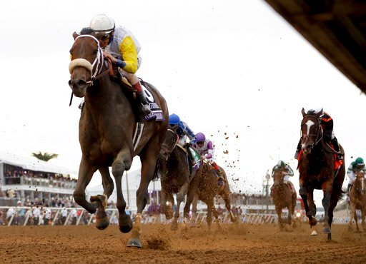 Forever Unbridled Scores Upset Win In Breeders Cup