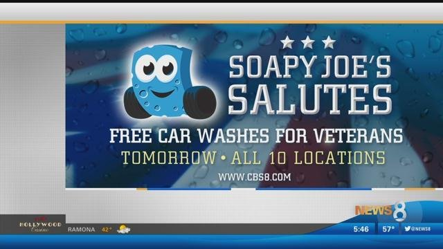 Free Car Wash For Veterans San Diego