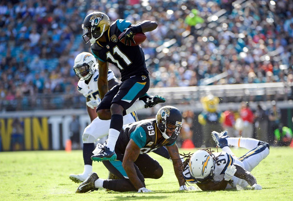 Jaguars Rally To Beat Chargers 20 17 In Ot For 3rd