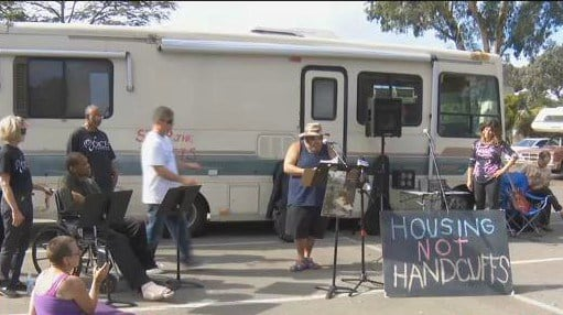 Homeless living in motorhomes suing the city cbs news 8 for Worldwide motors san diego ca