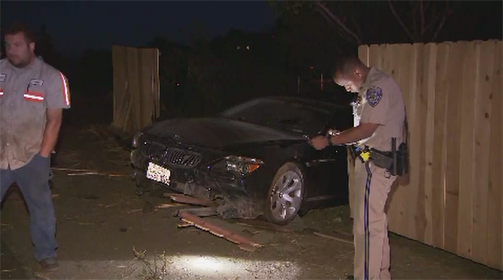 Suspected Dui Driver Crashes Into Property In East County