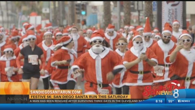San diego run festive 5k run is this saturday cbs news for Worldwide motors san diego ca