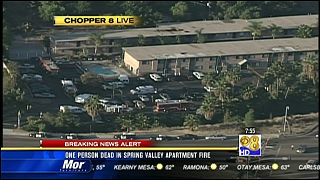 Man found dead in fire-ravaged apartment in Spring Valley - San Diego ...