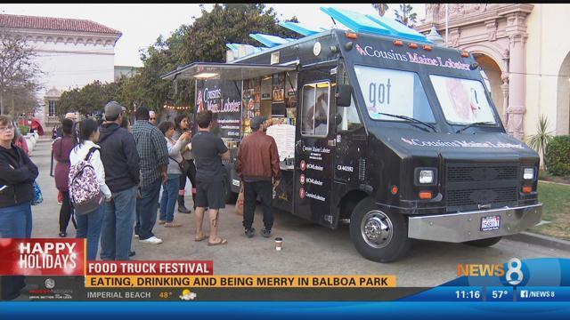 San Diego Food Trucks Balboa Park
