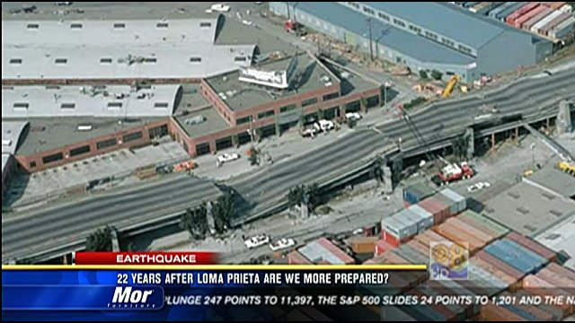 Earthquake San Diego >> 22 years after Loma Prieta quake, are we more prepared ...