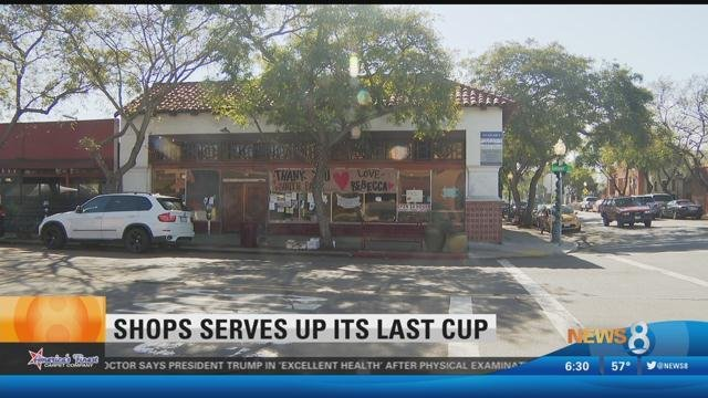 Rebecca s coffee house closes in south park cbs news 8 for Worldwide motors san diego ca