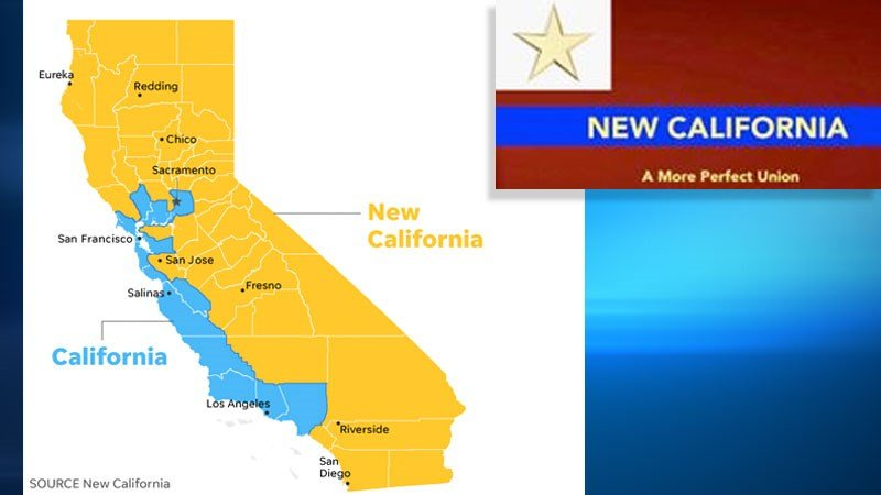 New California Declares Quot Independence Quot From Rest Of State