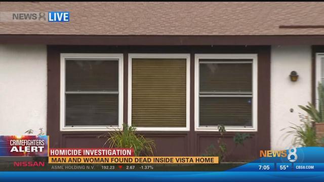 Man And Woman Found Dead Inside Vista Home Cbs News 8