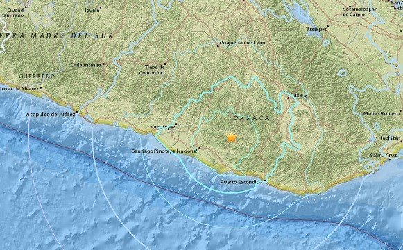 59 quake hits southern mexico but no damage reported