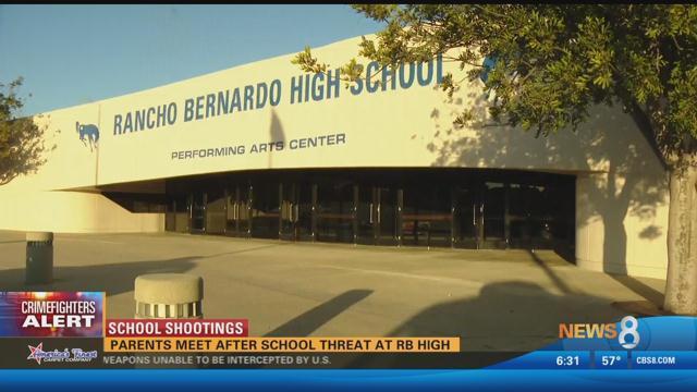 School shootings parents meet after rancho bernardo high for Worldwide motors san diego ca