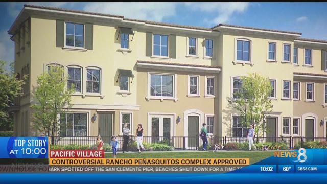 pacific village  controversial rancho penasquitos complex approv - cbs news 8