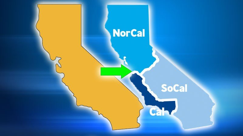 Breaking up California on ballot?