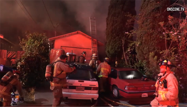1 dead  1 hospitalized following paradise hills house fire