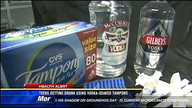 Teens Getting Drunk Using Vodka Soaked Tampons Cbs News 8 San Diego Ca News Station Kfmb