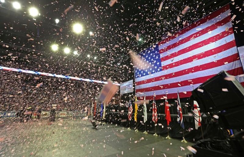 Republican convention begins in san diego cbs news 8 for Worldwide motors san diego ca