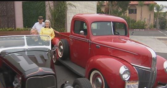 Cars For Causes Over The Hill Gang Streak Car Show CBS News - San diego car show