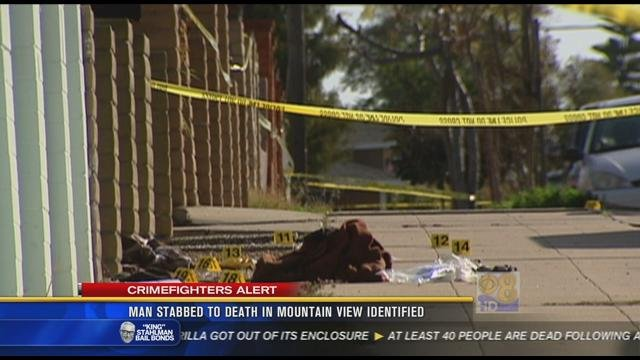Man Stabbing Person Man Stabbed to Death in