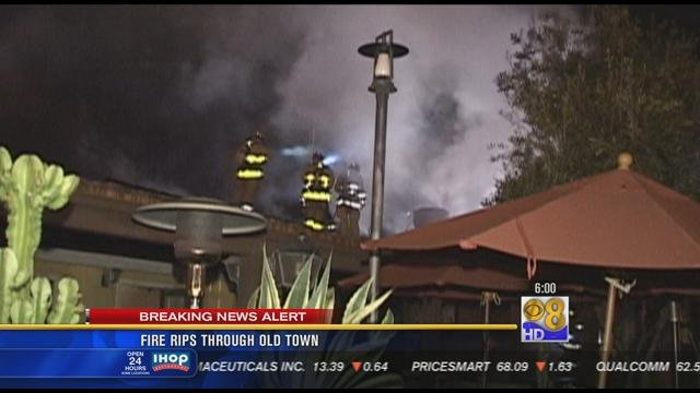 Superior SAN DIEGO (CBS 8)   Three Historic Buildings In Old Town Were Damaged After  An Early Morning Fire. Flames Broke Out At The El Patio Restaurant Near  Juan And ...