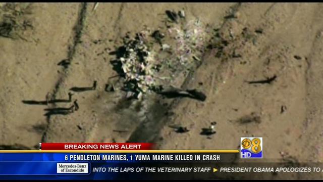Names Of 7 Marines Killed In Yuma Crash Released Cbs