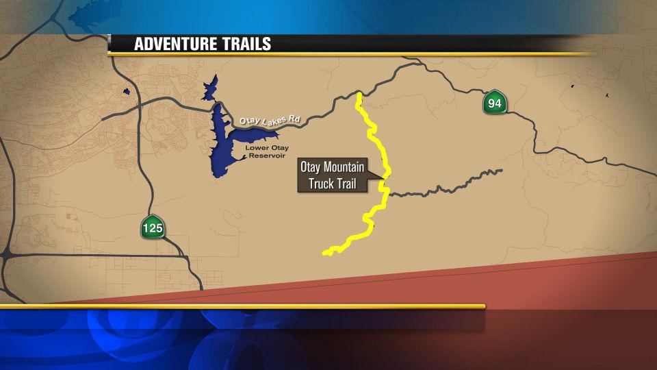 Otay Mountain Hiking Trail Otay Mountain Truck Trail