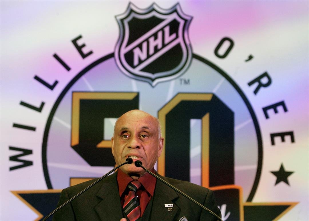 San Diego Gull & first black NHLer, Willie O'Ree, inducted ...